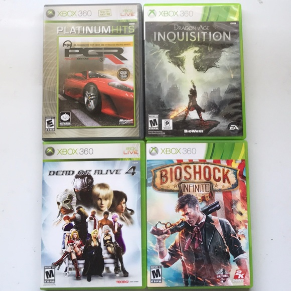 Other - XBOX 360 + LIVE Video Games